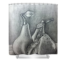 Pears Shower Curtain