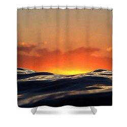 Pele Goddess Of Fire Shower Curtain
