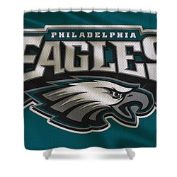Philadelphia Eagles Uniform Shower Curtain