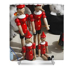 Shower Curtain featuring the photograph Pinocchio by Craig B
