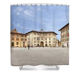 Pisa Shower Curtain by Joana Kruse