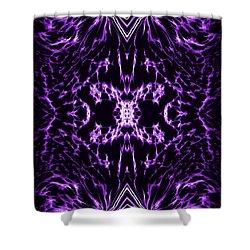Purple Series 2 Shower Curtain by J D Owen