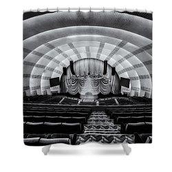 Radio City Music Hall Theatre Shower Curtain by Susan Candelario