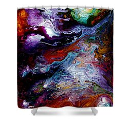 Reaching For Earth Shower Curtain