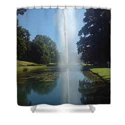 Shower Curtain featuring the photograph Reaching High by Tracey Williams