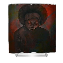 Reciprocity Shower Curtain by AC Williams
