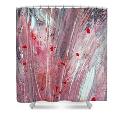 RED Shower Curtain by Teresa Wegrzyn