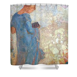 Redon's Pandora Shower Curtain by Cora Wandel