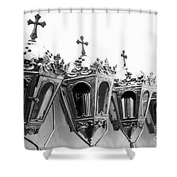 Religious Artifacts Shower Curtain by Gaspar Avila