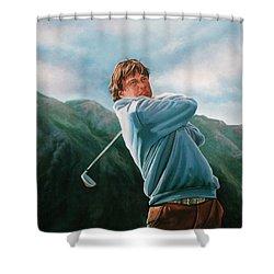 Robert Jan Derksen Shower Curtain by Paul Meijering