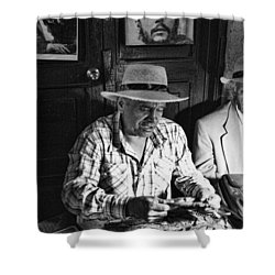 Rolling Cuban Cigars Shower Curtain