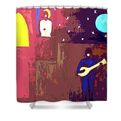 Romeo And Juliet Shower Curtain by Patrick J Murphy