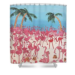 Royal Roost Shower Curtain