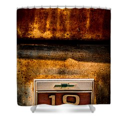 Rusted C10 Shower Curtain