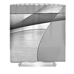 Sailcloth Abstract Number 4 Shower Curtain