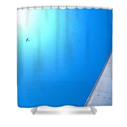 Sailing To The Sun Shower Curtain
