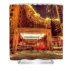 Saint Paul Hotel Shower Curtain by Amanda Stadther