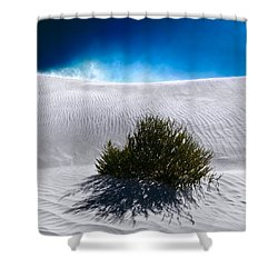 Sand Storm Shower Curtain