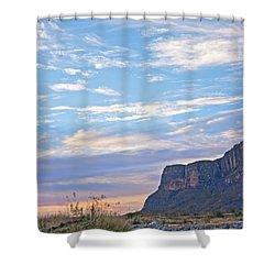 Santa Elena Sunrise Shower Curtain