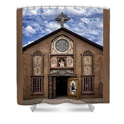 Santo Nino Chapel  Shower Curtain