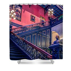 Shower Curtain featuring the photograph Sc State House by Rob Sellers