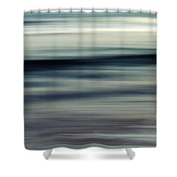 sea Shower Curtain by Stelios Kleanthous