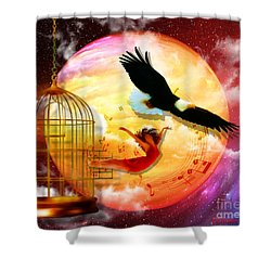 Set Free Shower Curtain