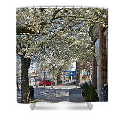 Small Town Saturday 2 Shower Curtain