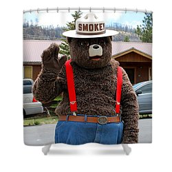 Smokey The Bear Shower Curtain