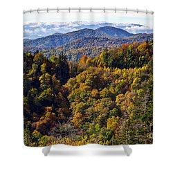 Smoky Mountain Color II Shower Curtain by Douglas Stucky