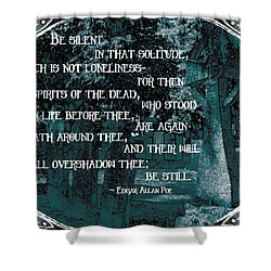Spirits Of The Dead Shower Curtain