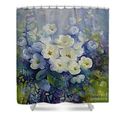 Spring Shower Curtain by Elena Oleniuc