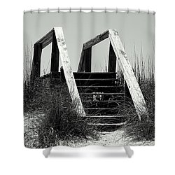 Shower Curtain featuring the photograph Stairway To Heaven by Debra Forand