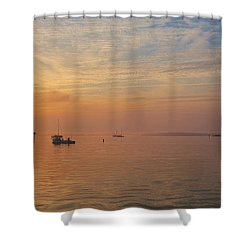 Sunrise On The Chesapeake Bay Shower Curtain