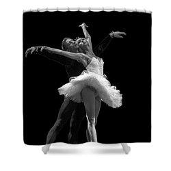 Swan Lake  White Adagio  Russia 3 Shower Curtain