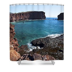 Sweetheart Rock Shower Curtain by Jenna Szerlag