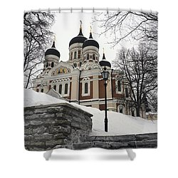 Tallinn Estonia Shower Curtain