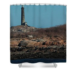 Thatcher Island Shower Curtain