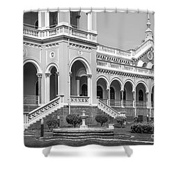 The Aga Khan Palace Shower Curtain