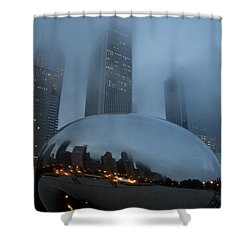 The Bean And Fog Shower Curtain