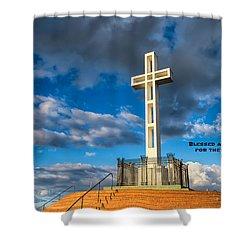 The Beatitudes Shower Curtain