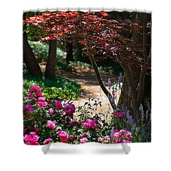 The Garden Path Shower Curtain