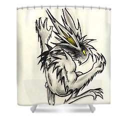 The Gargunny Shower Curtain by Shawn Dall