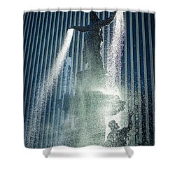 The Genius Of Water  Shower Curtain
