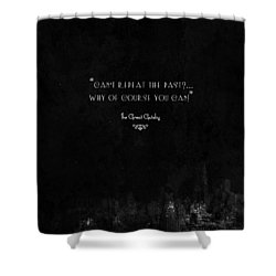 The Great Gatsby Shower Curtain