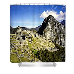The Lost City Shower Curtain by Suzanne Luft