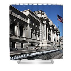 The Met Shower Curtain by David Bearden