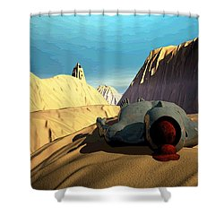 The Midlife Dreamer Shower Curtain