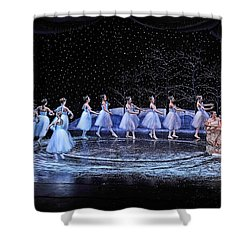 The Nutcracker Shower Curtain by Bill Howard