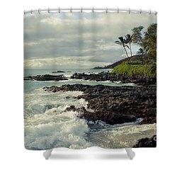 The Sea Shower Curtain by Sharon Mau